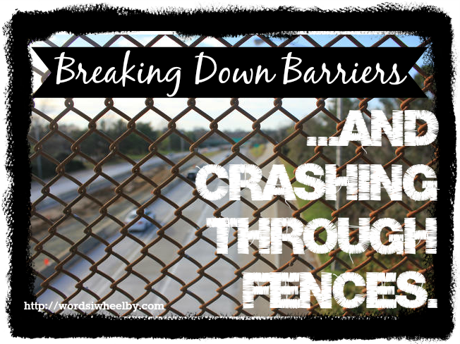 Breaking Through Barriers Quotes Breaking Down Barriers...and