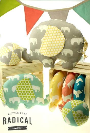 Little Free Radical Eco-Friendly Stuffed Toys